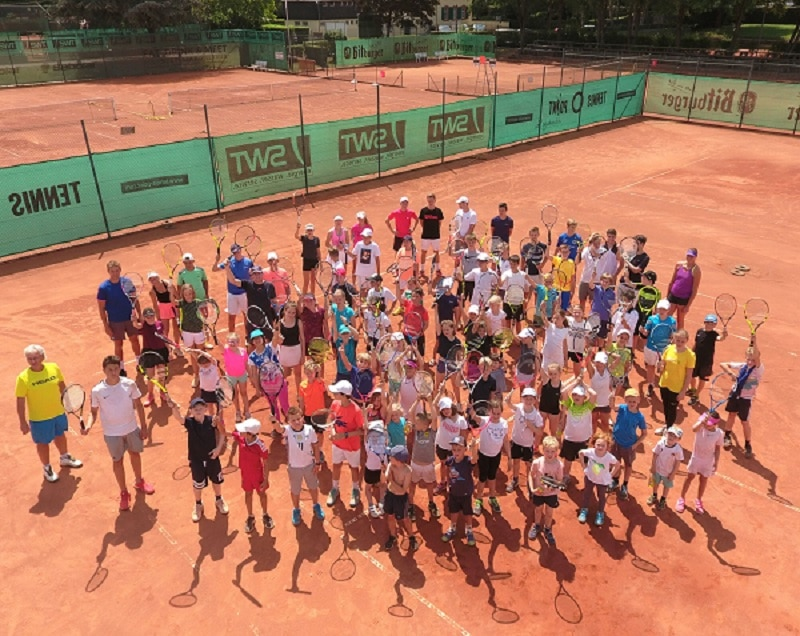 Tennisschule-Point-Schüler